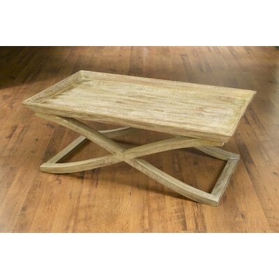 Vermont Coffee Table with Tray Top Color: Weathered Sand