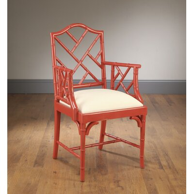 Hilal Dining Chair Frame Color: Coral Red