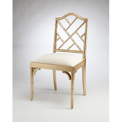 Hilal Dining Chair Finish: Gold
