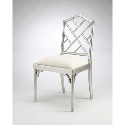 Hilal Dining Chair Finish: Silver