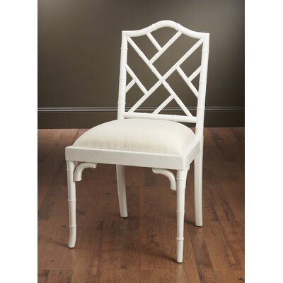 Hilal Dining Chair Finish: White