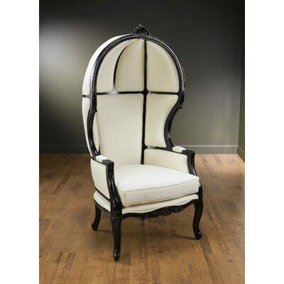 Bonifant Fabric Balloon Chair Finish: Black
