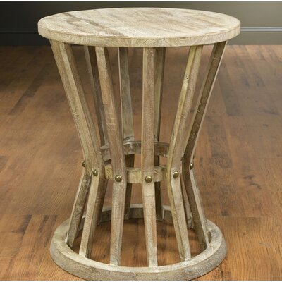 Behdad End Table Color: Weathered Sand
