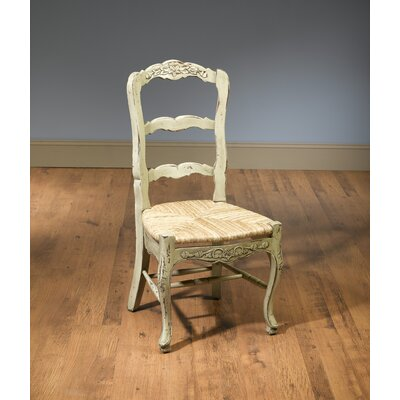 Evelyn Solid Wood Dining Chair Color: Parchment