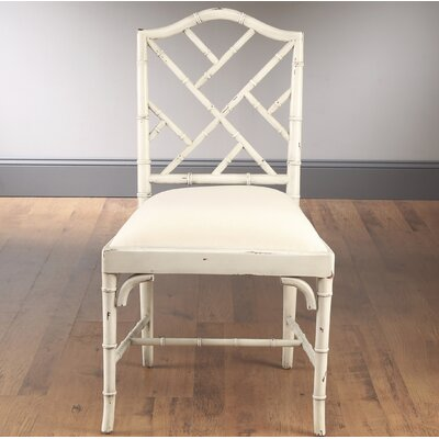 Side Chair Frame Color: Distressed Parchment