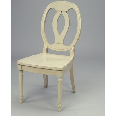 No credit financing Side Chair Finish: Antique White...