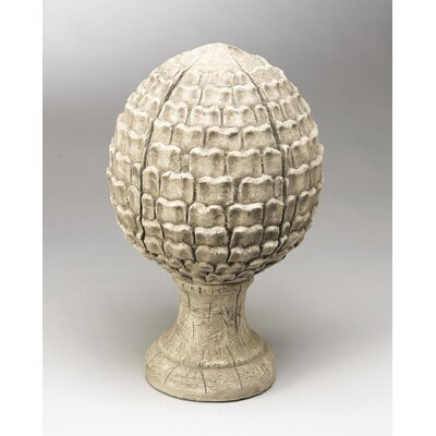 Finial Sculpture Finish: White
