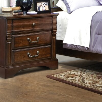 Furniture leasing Washington Manor 3 Drawer Nightstan...