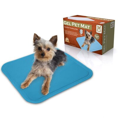 "Dog Gel Mat Size: Extra Small (12"" L x 8"" W)"