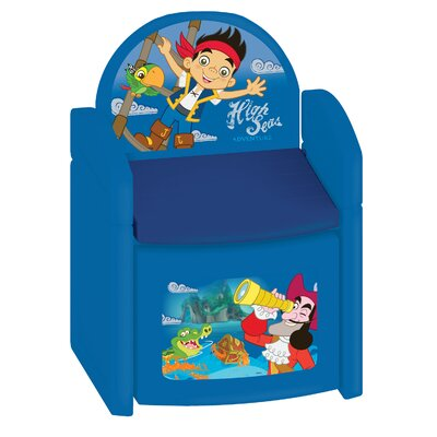 Jake and The Never Land Pirates Sit N Store Kids Novelty Chair 64969
