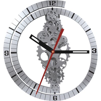 24 x 22 Large Moving Gear Wall Clock