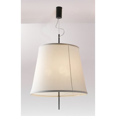 Adolight 2 Bell Pendant Shade Color: Black