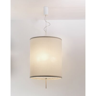 Adolight 1 Drum Pendant Shade Color: Off-White