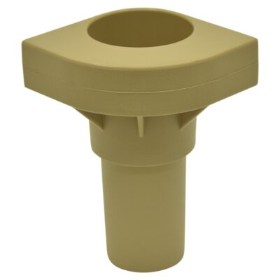 Replacement Cot Leg Color: Tan