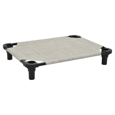 Premium Pet Cot Color: River Rock/Black