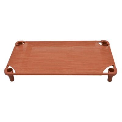 Premium Pet Cot Color: Clay/Rust
