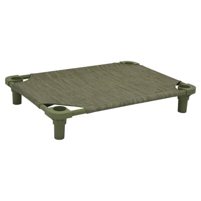 Premium Pet Cot Color: Toad/Sage