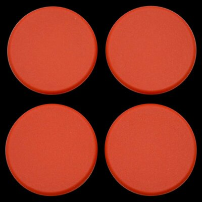 Plastic Plugs Cot Leg Color: Autumn Orange
