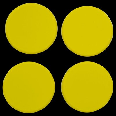 Plastic Plugs Cot Leg Color: Yellow