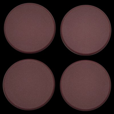 Plastic Plugs Cot Leg Color: Burgundy