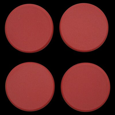 Plastic Plugs Cot Leg Color: Red
