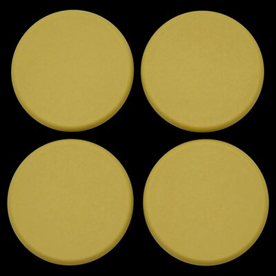 Plastic Plugs Cot Leg Color: Gold