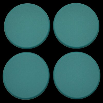 Plastic Plugs Cot Leg Color: Teal