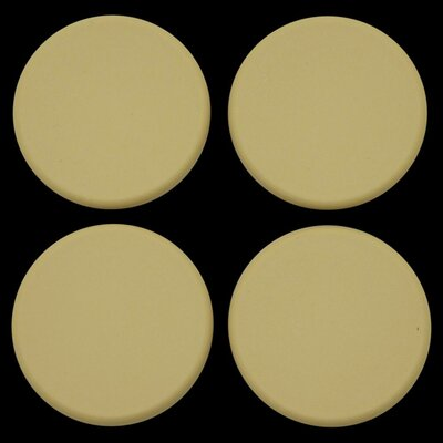 Plastic Plugs Cot Leg Color: Tan