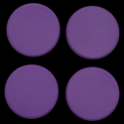 Plastic Plugs Cot Leg Color: Purple