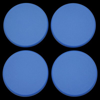 Plastic Plugs Cot Leg Color: Blue