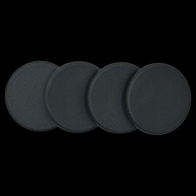 Plastic Plugs Cot Leg Color: Black