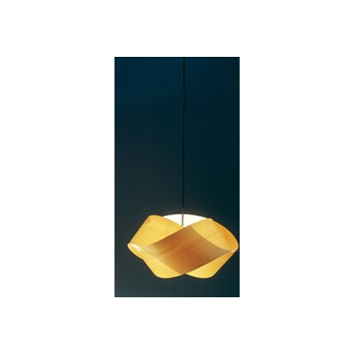 Nut S Suspension Light Shade Color: Yellow, Bulb: E26