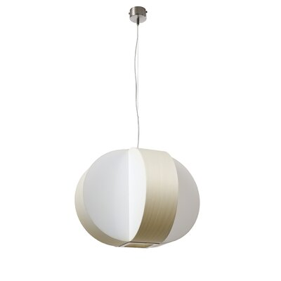 Carambola 4-Light Globe Pendant Shade Color: Ivory White