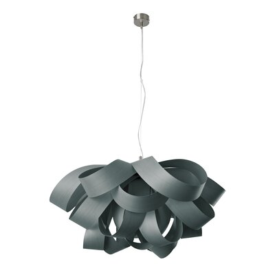 Agatha 3-Light Geometric Pendant Finish: Turquoise, Size: Small, Bulb Type: E26 Base