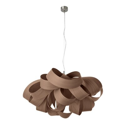 Agatha 3-Light Geometric Pendant Finish: Chocolate, Size: Small, Bulb Type: GU24 Base