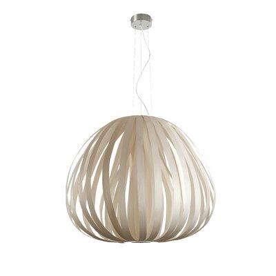 Poppy 1-Light Globe Pendant Finish: Ivory White, Bulb Type: GU24 Base