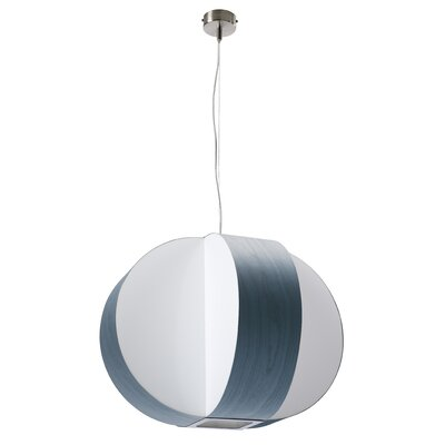 Carambola 4-Light Globe Pendant Shade Color: Blue