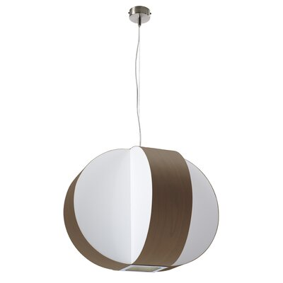 Carambola 4-Light Globe Pendant Shade Color: Chocolate