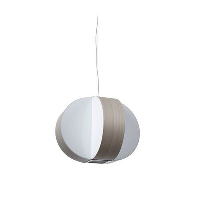 Carambola 1-Light Mini Pendant Finish: Brushed Nickel, Bulb Type: GU24