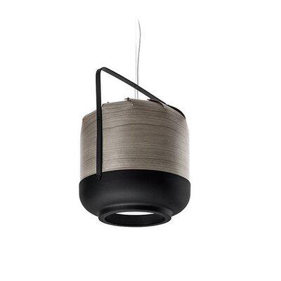 Chou 1-Light Pendant Bulb Type: GU24, Size: 14.5 H x 12 W x 12 D