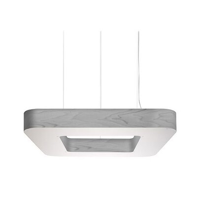 Cuad Club 4-Light Pendant Size: 4.7 H x 39.4 W x 39.4 D
