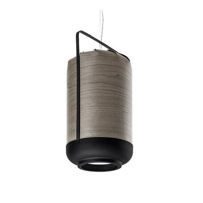 Chou 1-Light Inverted Pendant Size: 14.5 H x 12 W x 12 D, Bulb Type: E26