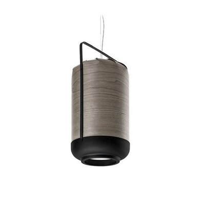 Chou 1-Light Inverted Pendant Size: 15.7 H x 8.4 W x 8.4 D, Bulb Type: GU24