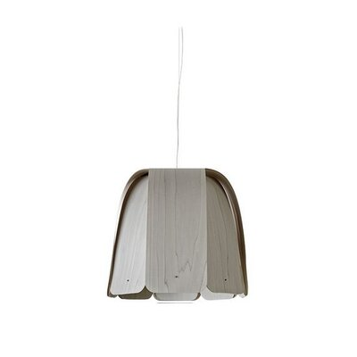Domo 1-Light Inverted Pendant Size: 21.6 H x 23.6 W x 23.6 D, Bulb Type: E26
