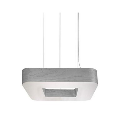 Cuad Club 4-Light Drum Pendant Size: 4.7 H x 27.5 W x 27.5 D