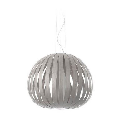 Poppy 1-Light Globe Pendant Bulb Type: GU24