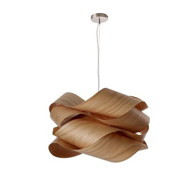 Link 1-Light Pendant Finish: Natural Cherry
