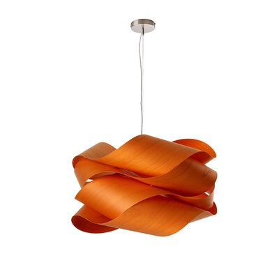 Link 1 Light Pendant Finish: Orange LK SG E26 UL 25