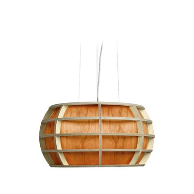 Kim 1-Light Globe Pendant Shade Color: Orange