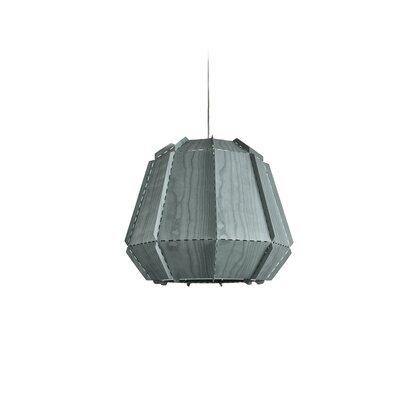 Conkle Stitches 1-Light Geometric Pendant Shade Color: Turquoise, Bulb Base: E26/Medium (Standard)
